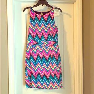 Lilly Pulitzer chevron dress